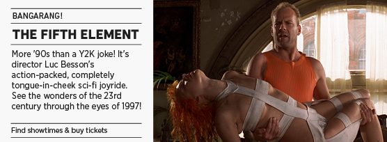 Banner: Fifth Element: Bangarang!