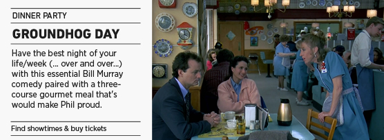 Banner: Groundhog Day Dinner Party