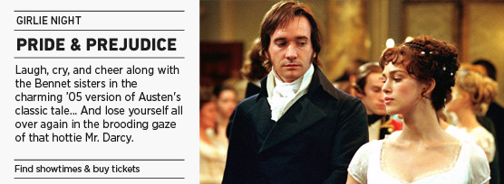 Banner: Pride and Prejudice