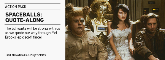 Banner: Spaceballs Quote-Along - 2013