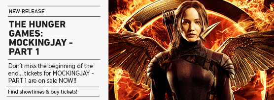 Mockingjay- Part 1 on sale now