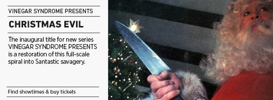 Banner: CHRISTMAS EVIL