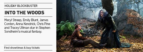 Banner: Disney's INTO THE WOODS