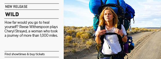 Banner: Reese Witherspoon in WILD