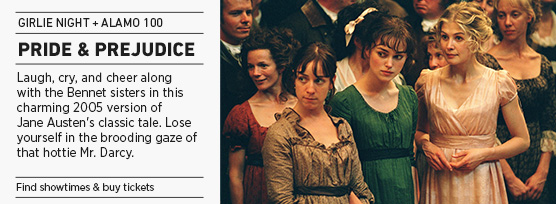 Banner: Girlie Night PRIDE & PREJUDICE - 2015 upload