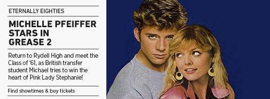 Banner: Eternally Eighties - GREASE 2