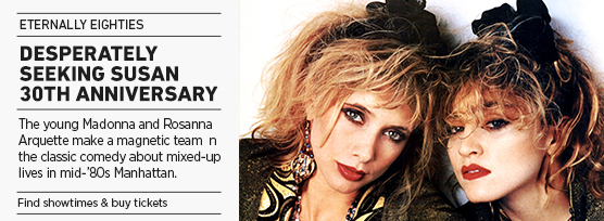 Banner: DESPERATELY SEEKING SUSAN Eternally Eighties