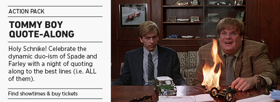 Banner: TOMMY BOY Quote-Along - 2015 upload
