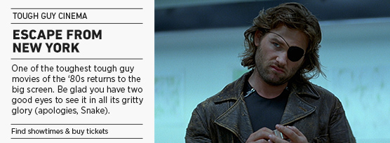 Banner: Tough Guy Cinema ESCAPE FROM NEW YORK - 2015 upload