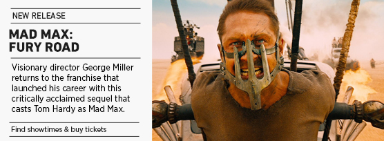 Banner: Mad Max: Fury Road
