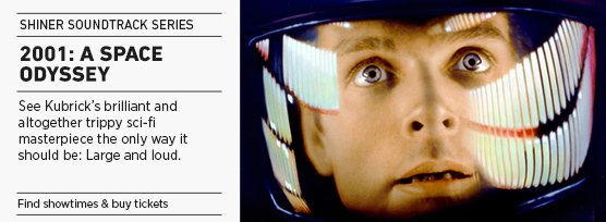 Banner: Shiner Soundtrack Series 2001 A SPACE ODYSSEY - 2015 upload