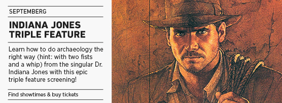 Banner: Septemberg INDIANA JONES Triple Feature - 2015 upload