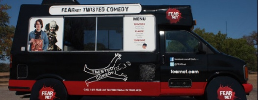Stop By The FEARnet Twisted Truck Today!