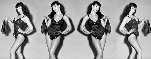 THEY WEAR NO CLOTHES: Bettie Page, Nude Volleyball and more! Rare 35mm Nudie Cuties at the Ritz