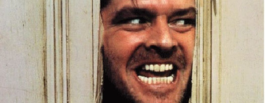 Redrum! Redrum! THE SHINING returns to the big screen for one night only this month