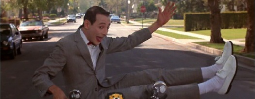 Tell 'em Large Marge sent you to the free screening of PEE-WEE'S BIG ADVENTURE this month