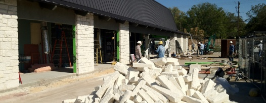 The Alamo Village Remodel is Well On Its Way!