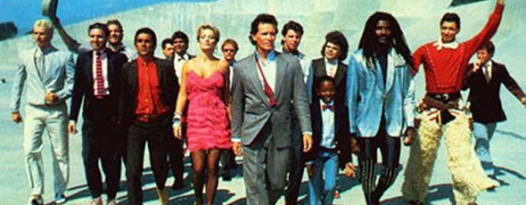 Where are we going? Planet Ten! When? Real Soon! Late Shows of BUCKAROO BANZAI This Weekend at Ritz!