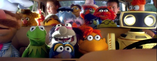 WOCKA WOCKA WOCKA out with THE MUPPETS