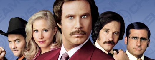 By the beard of Zeus! It's time for the ANCHORMAN Quote-Along