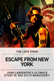Poster: Late Show - Escape from New York