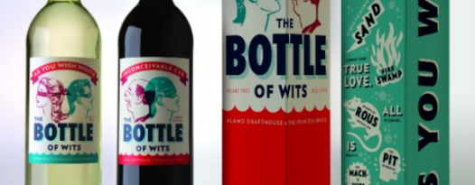 "ALAMO DRAFTHOUSE UNVEILS SIGNATURE WINE LINE ""THE BOTTLE OF WITS"""