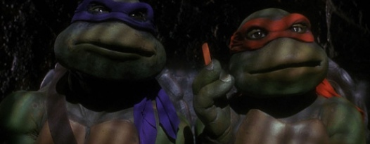 Go ninja, go ninja GO! Join us this Sunday for a TEENAGE MUTANT NINJA TURTLES double feature