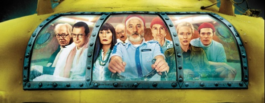 Celebrate the majesty of the ocean by chowing down on fish while watching THE LIFE AQUATIC