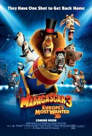 MADAGASCAR 3 3D