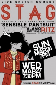 STAG! Live Sketch Comedy w/ Members of Master Pancake Theater