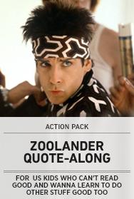 Poster: Zoolander