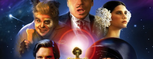 Come see Mel Brooks's side-splitting comedy classic SPACEBALLS at Slaughter and Village!