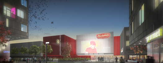 ALAMO DRAFTHOUSE SOUTH LAMAR AND THE HIGHBALL RE-DEVELOPMENT BEGINS JANUARY 2013