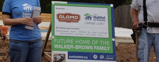 Announcing our newest building project - Austin Habitat for Humanity!