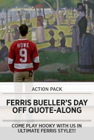 Poster: Ferris Bueller Quote-Along