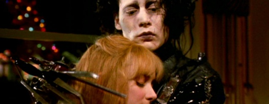 EDWARD SCISSORHANDS is Tim Burton's life story