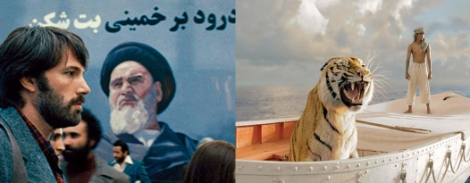 Best Picture Nominees LIFE OF PI and ARGO Return to the Alamo!!