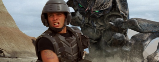 Tough Guy Cinema presents a 35mm screening of STARSHIP TROOPERS This Saturday!!