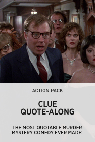 Poster: CLUE Quote-Along