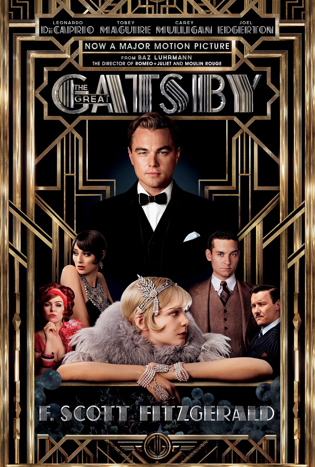 an analysis of the characters in the novel the great gatsby by f scott fitzgerald