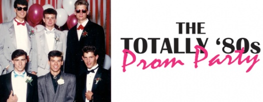 Prepare for the TOTALLY '80s PROM PARTY with these awesome '80s prom pics!