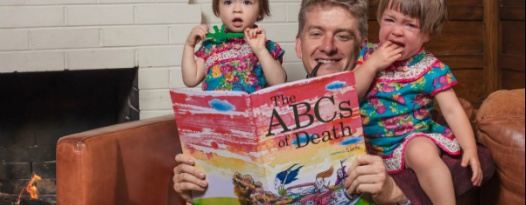 Guess What, Kiddos? Now There's An ABCs OF DEATH Children's Book Just For You.