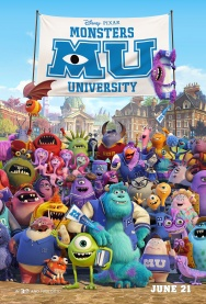 MONSTERS UNIVERSITY 2D