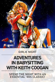 Poster: Adventures in Babysitting with Keith Coogan