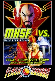 Mile High Sci FI VS. FLASH GORDON