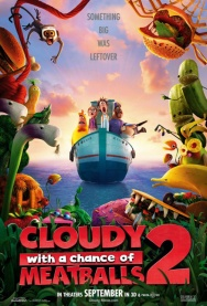 CLOUDY WITH A CHANCE OF MEATBALLS 2 2D