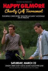THE HAPPY GILMORE CHARITY GOLF TOURNAMENT