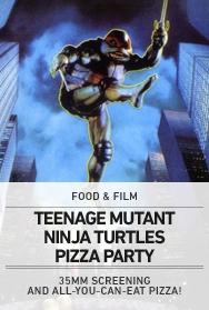 Poster: Teenage Mutant Ninja Turtles Pizza Party