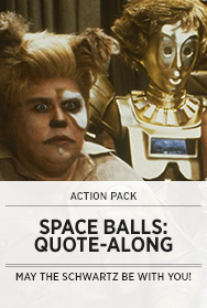Poster: Spaceballs Quote-Along