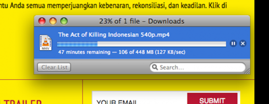 THE ACT OF KILLING Now Available For Free In Indonesia And ISP Blocking Has Begun